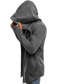 Мъжко горнище ''Prizo'' - тъмно сиво