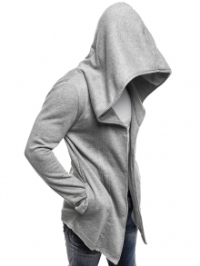 Мъжко горнище ''Prizo'' - светло сиво