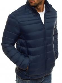 Мъжко шушлеково яке ''Елеганс'' - Тъмно синьо