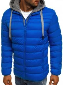 Мъжко шушлеково яке ''Елеганс'' - Светло синьо