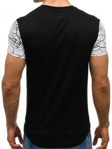 Мъжка тениска ''Норис'' - черна