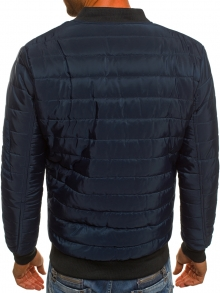Мъжко яке ''Анри'' - тъмно синьо