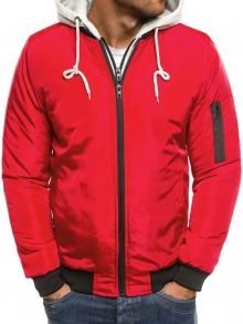 Мъжко яке ''Дино'' - червено
