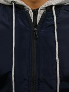 Мъжко яке ''Дино'' - тъмно синьо