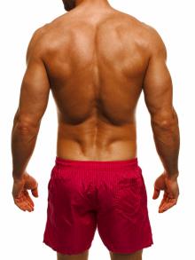 Мъжки шорти лято 2019 - червени
