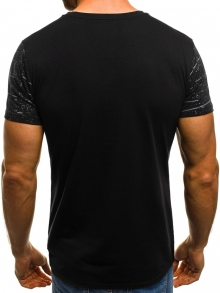 Мъжка тениска ''GIANTS'' - черна