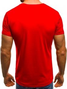 Мъжка тениска ''GIANTS'' - червена