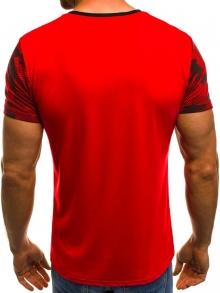 Мъжка тениска ''Record'' - червена