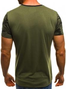 Мъжка тениска ''Record'' - зелена
