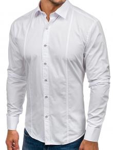 Нов модел мъжка риза Бяла 2019
