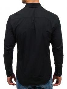 Нов модел мъжка риза Черна 2018