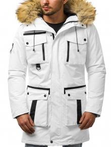 Мъжко яке ''Санчес'' - бяло