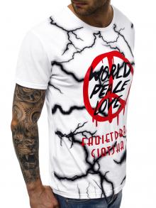 Мъжка тениска ''Nord'' - бяла
