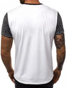 Мъжка тениска ''Mystery'' - черно бяла