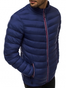 Мъжко яке ''Медел'' - тъмно синьо