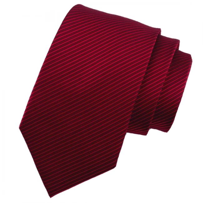 Мъжка бордо класическа вратовръзка