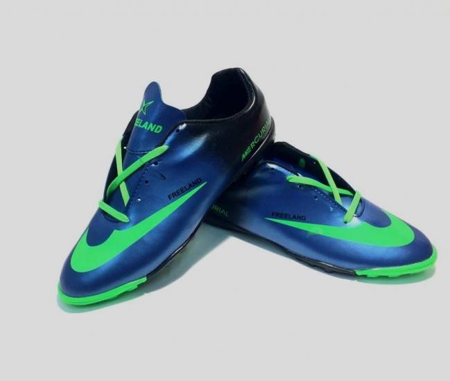 """Страхотни спортни обувки """" Mercurial Blue"""" ТОП ЦЕНА !"""