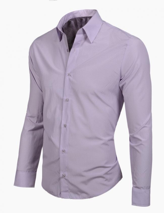 Втален модел светло лилав цвят Фабрицио