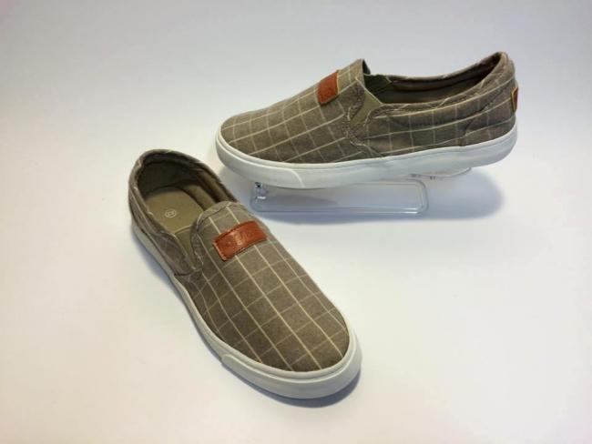 Мъжки обувки кафяво каре супер модел Код :М-081Khaki