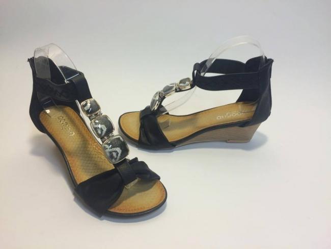 Нов модел сандали лято 2015 Код: 6512-9A Black
