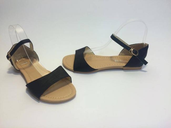 Изчистени сандали модел лято 2015 код : XW-08 Black