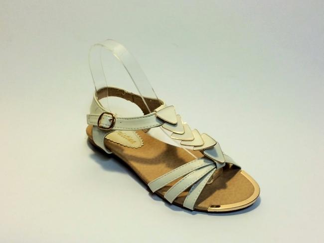 Нов модел бели летни сандали Код : 010 White