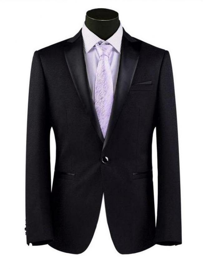 Мъжко сако от Сатен Чернo страхотен модел !