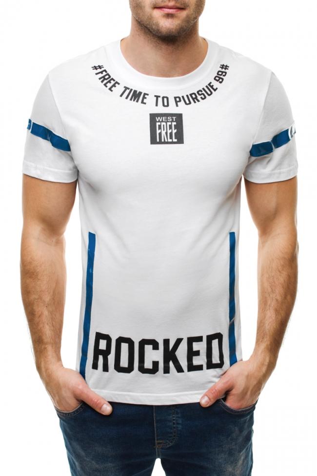 Тениска Rocked - бяла