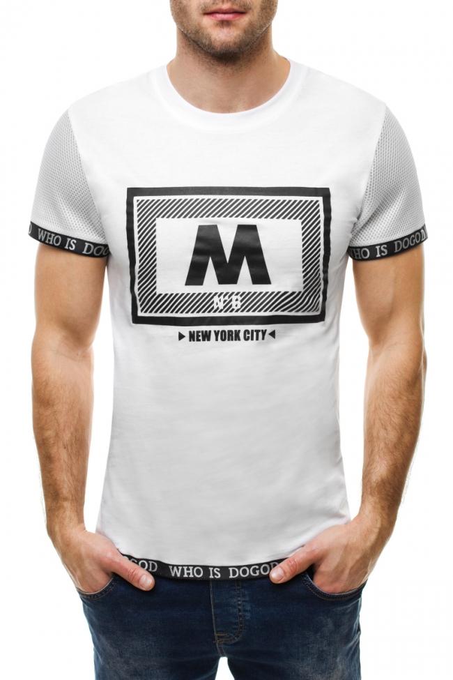 Тениска Who - бяла