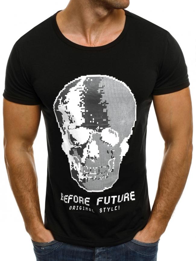 Мъжка тениска ''Future'' черна