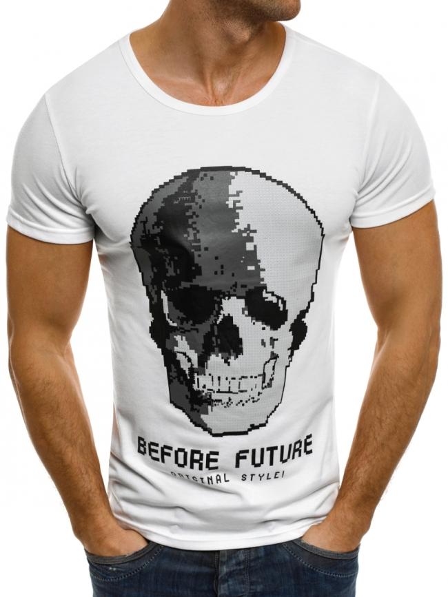 Мъжка тениска ''Future'' - бяла
