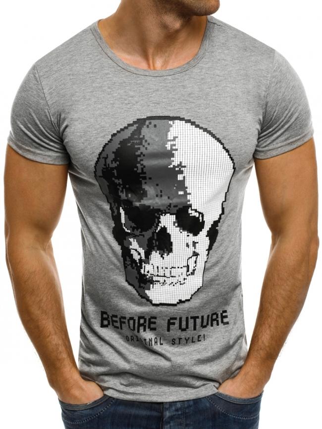 Мъжка тениска ''Future'' сива