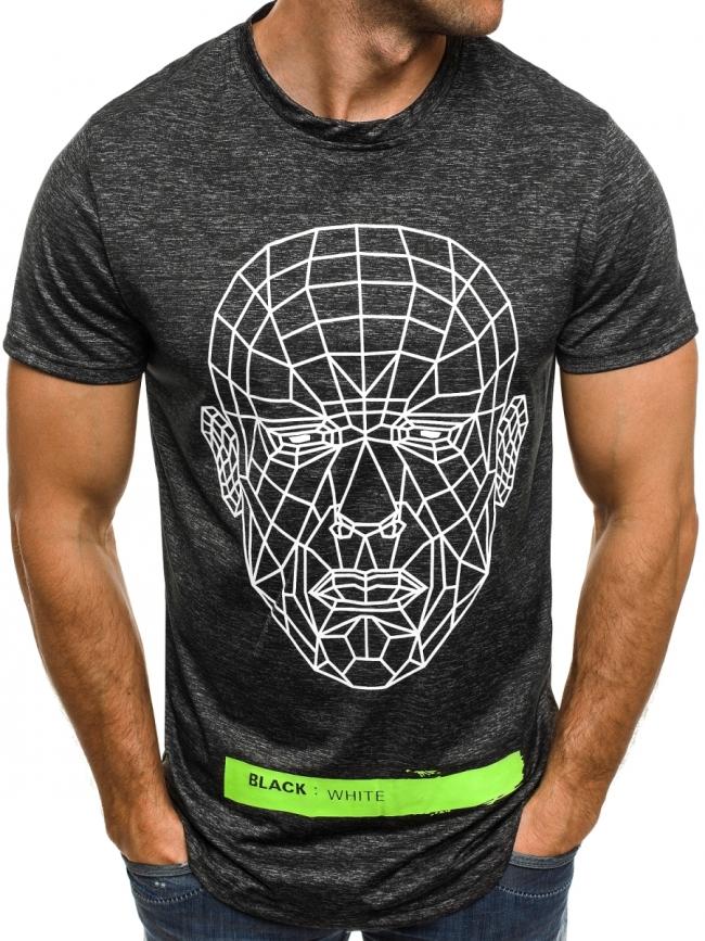 Мъжка тениска ''Last'' - графит