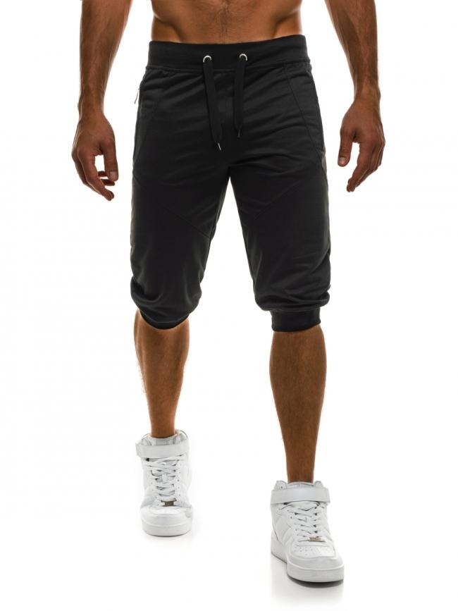 Мъжки шорти Loop - черни