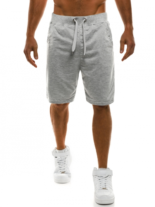 Мъжки шорти Рамирес - светло сиви