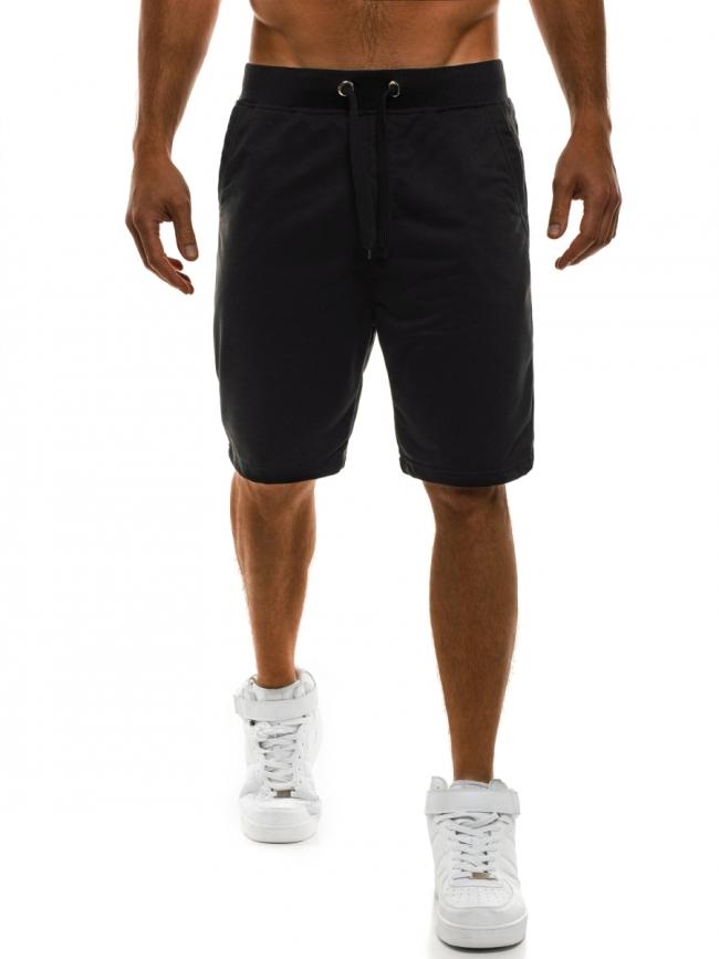 Мъжки шорти Рамирес - черни
