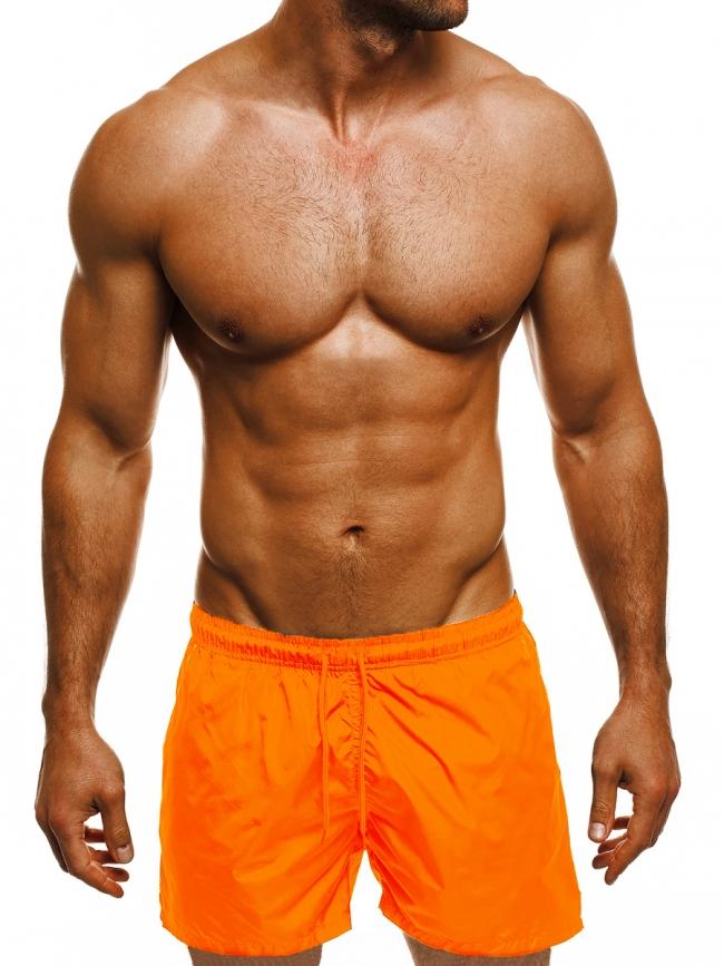 Мъжки шорти лято 2019 - оранжеви