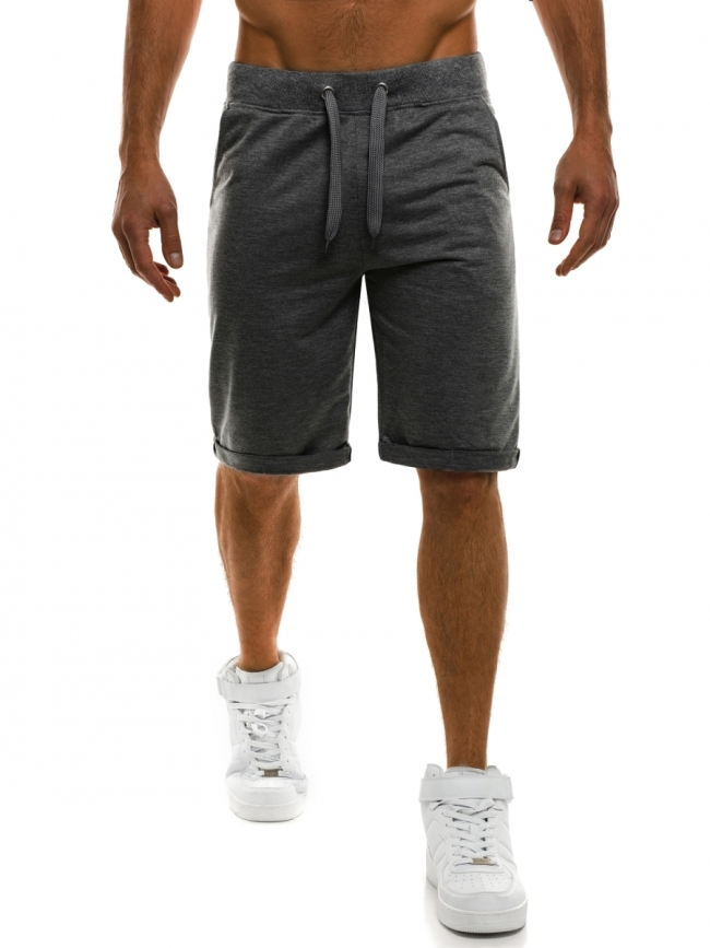 Мъжки шорти Czech - тъмно сиви