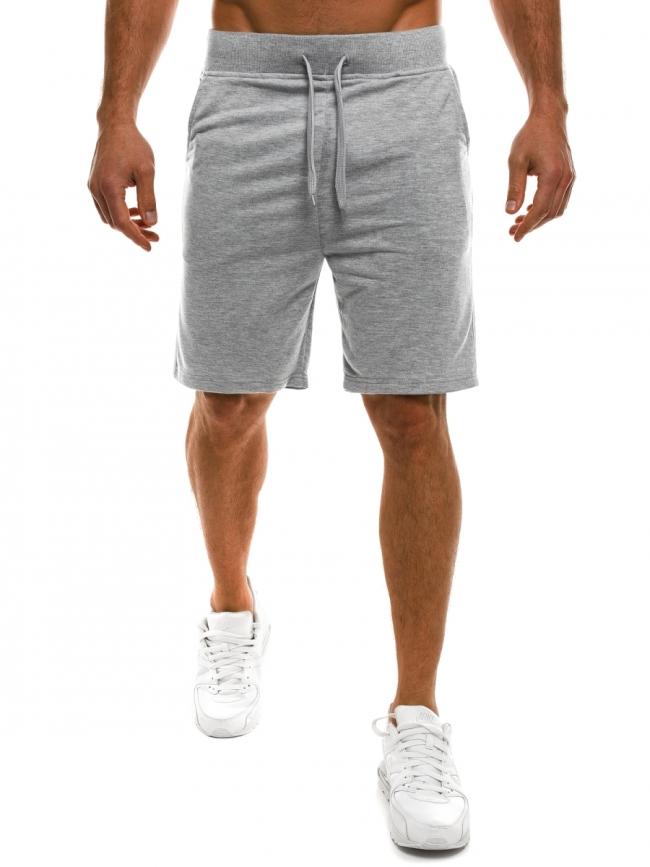 Мъжки шорти Jack - светло сиви