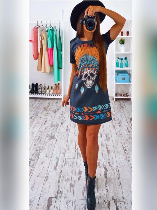 Рокля ''Ева'' нов модел есен 2018