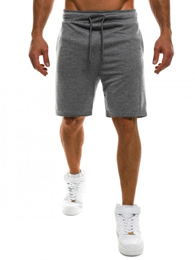Мъжки шорти Fasio - тъмно сиви
