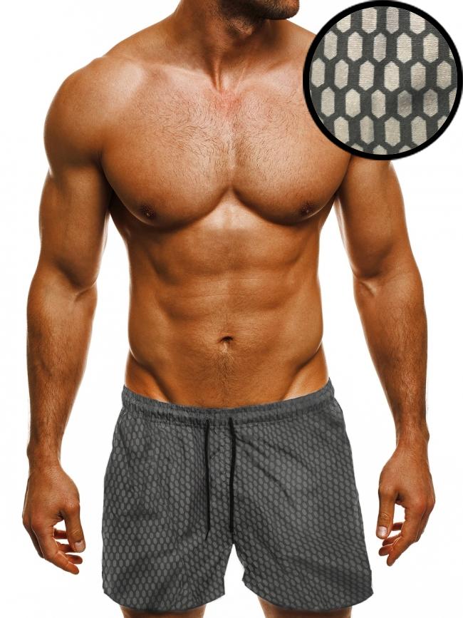 Мъжки шорти лято 2018 - сиви