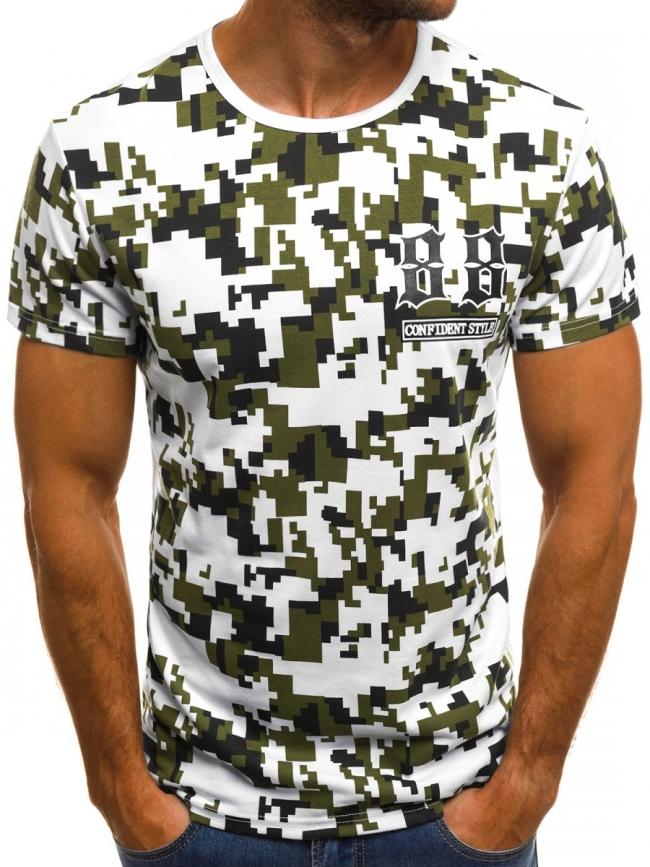 Мъжка тениска ''Fire'' - бяла
