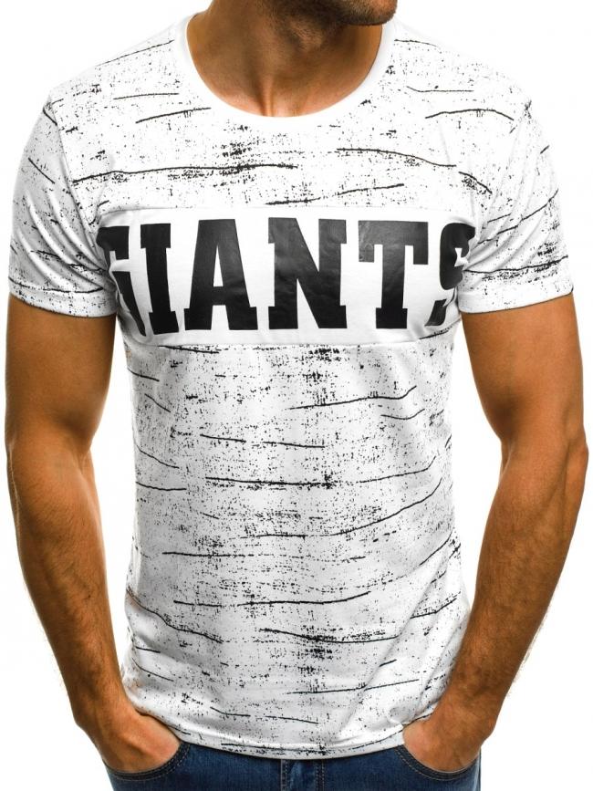Мъжка тениска ''GIANTS'' - бяла