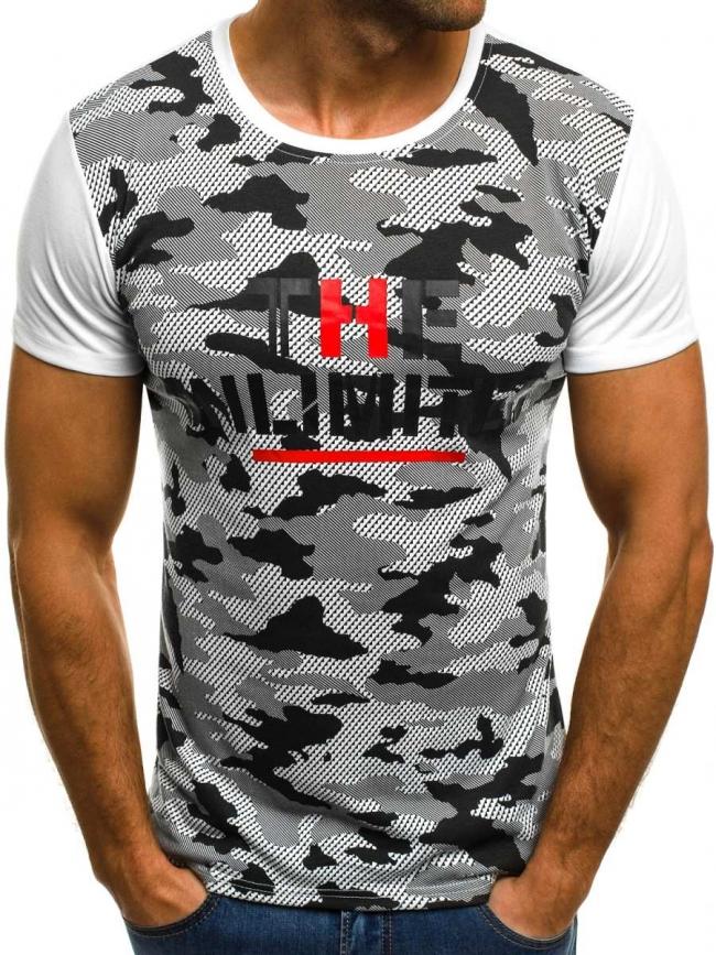 Мъжка тениска ''LIMITED'' - бяла