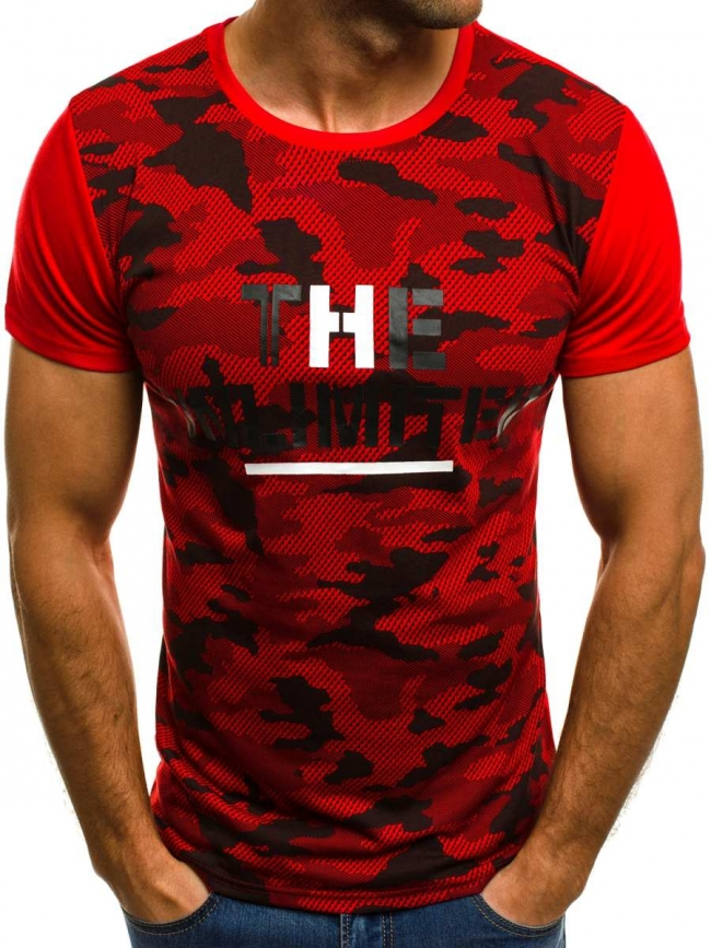 Мъжка тениска ''LIMITED'' - червена