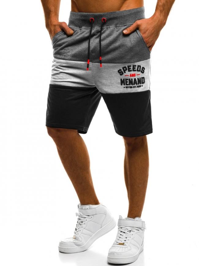 Мъжки шорти ''Cagliari'' - тъмно сиви
