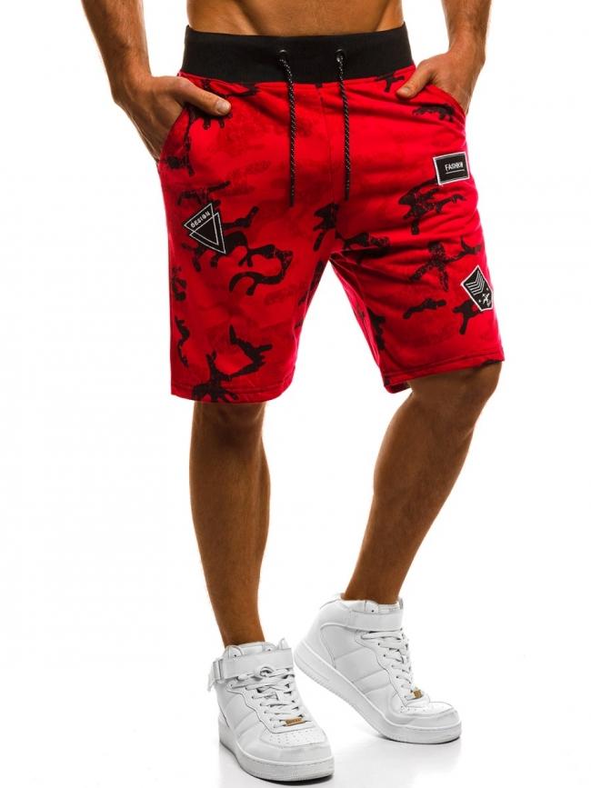 Мъжки шорти ''Spal'' - червени
