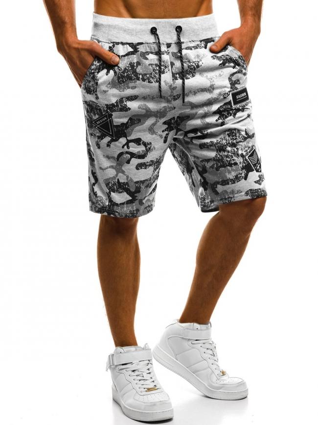 Мъжки шорти ''Spal'' - светло сиви