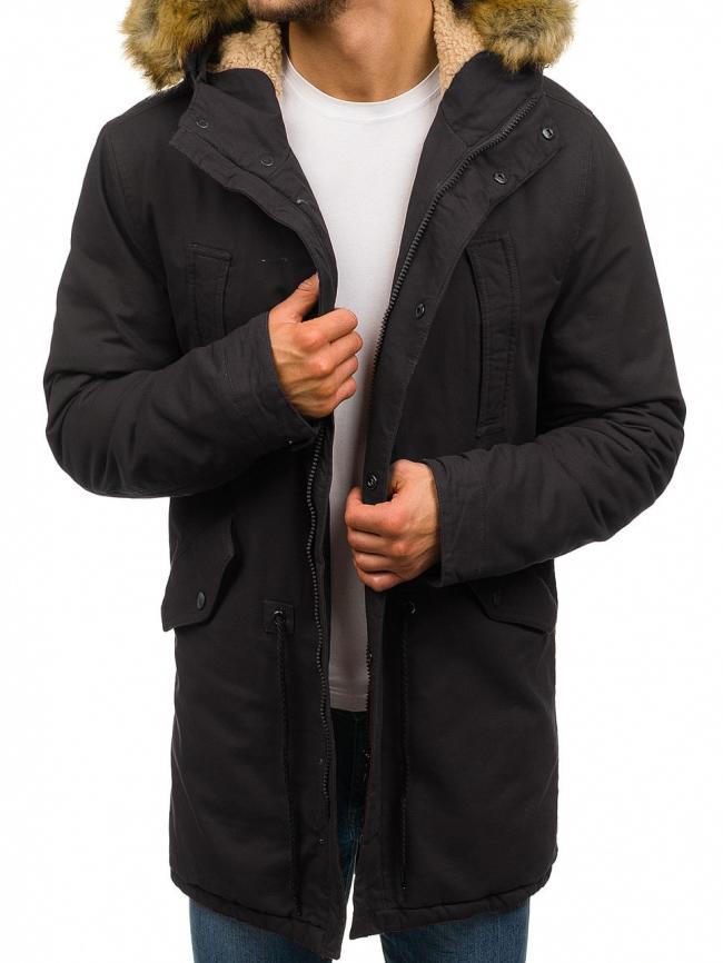 Мъжко яке ''Дрейк'' - Черно